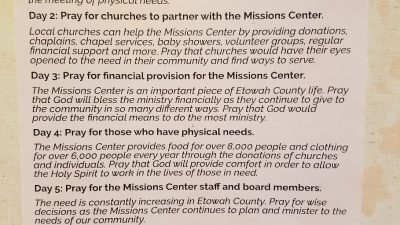 Etowah Baptist Mission Center